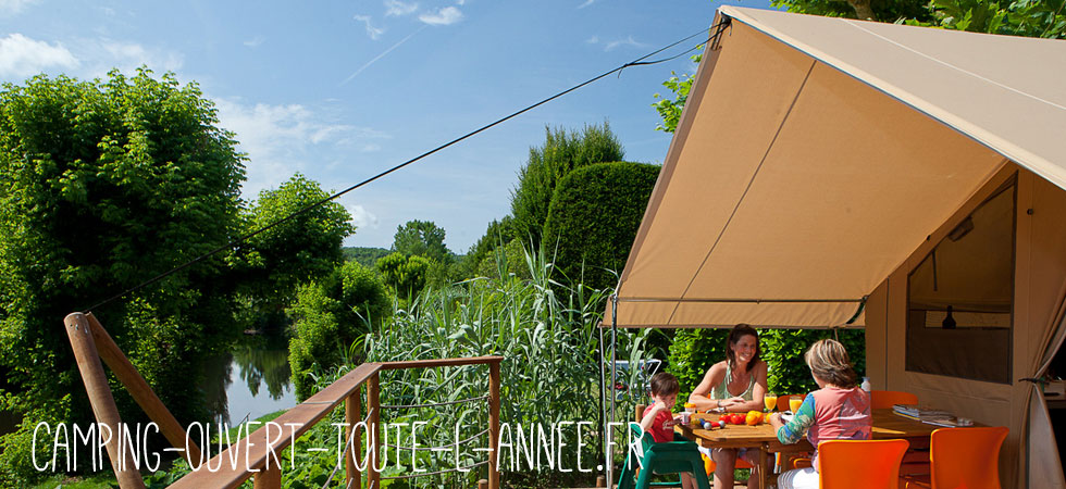 Camping ouvert toute l annee